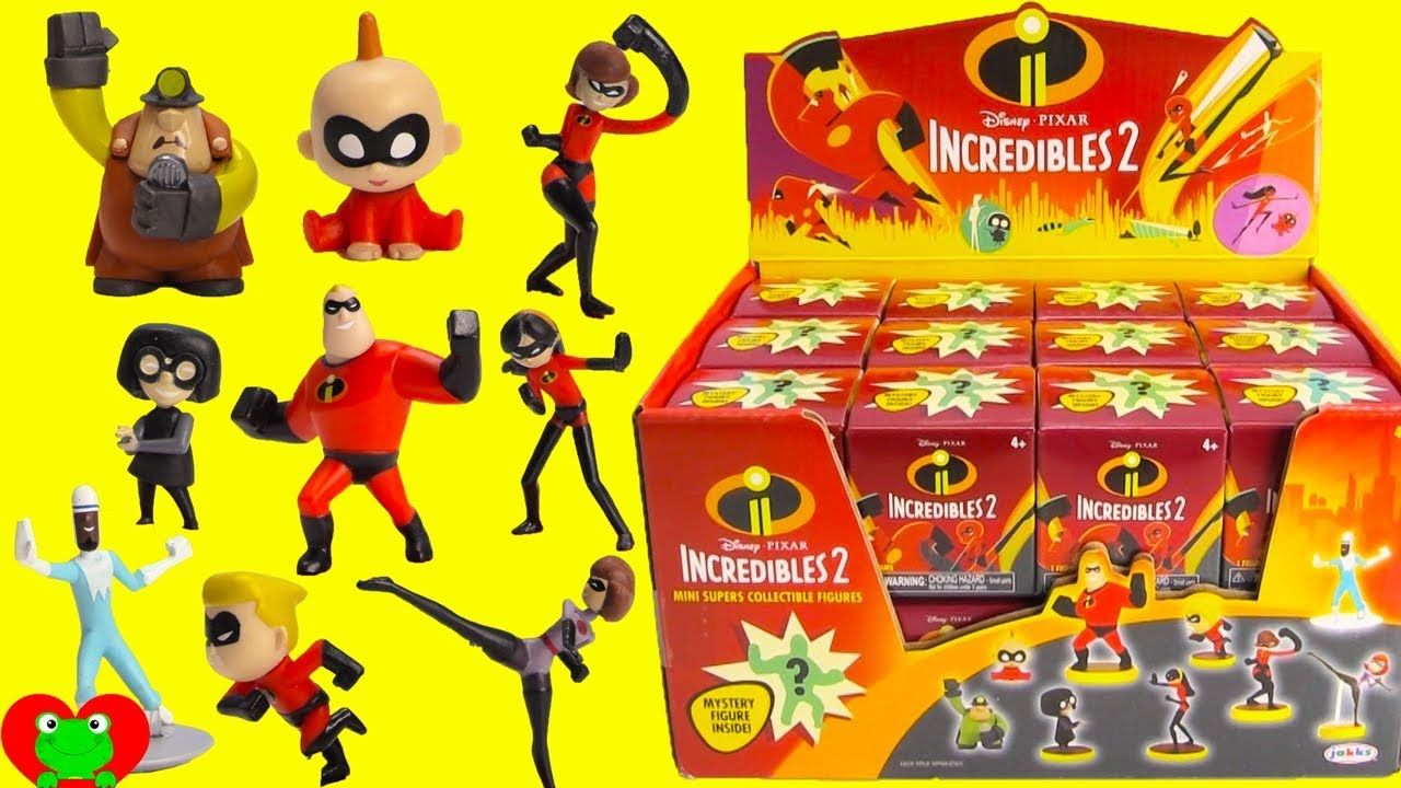64ea968d092 Incredibles 2 Mystery Blind Boxes Mr. Incredible