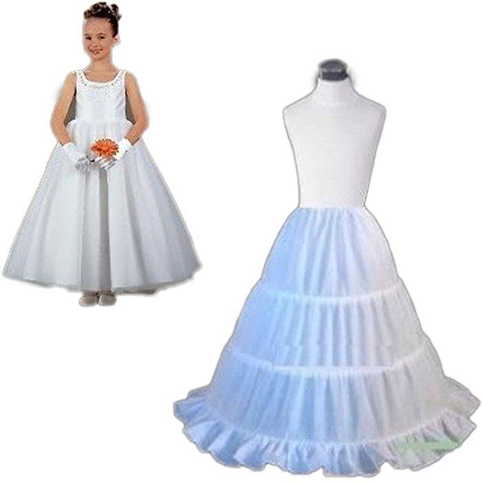 YoYodress YoYodress Drei Kreis Hoop Kinder Kid Kleid Slip Weiß ...