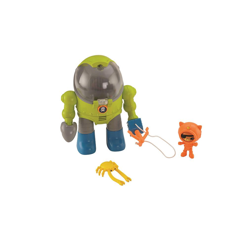 Fisher-Price Octonauts Kwazii\'s Octo Max Suit - Fisher-Price - Toys ...