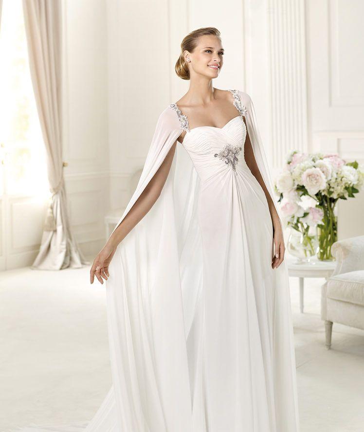 Vestido novia griego pronovias