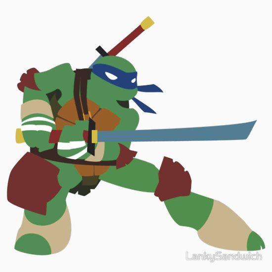 Leonardo sticker nickelodeons tmnt sticker by lankysandwich