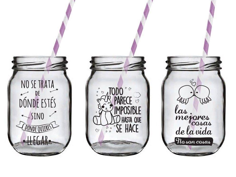 Vinilos para frascos como un arte decorativo hace m s de - Hacer vinilos personalizados ...