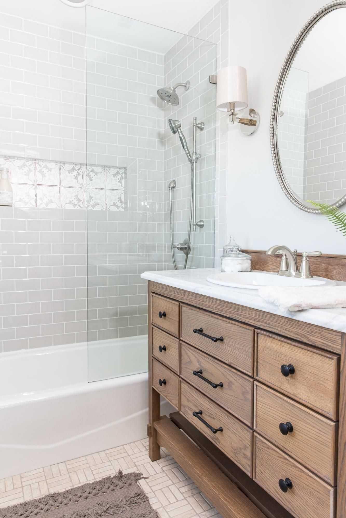 Fresh Joanna Gaines Farmhouse Bathroom Shower Curtain With Images