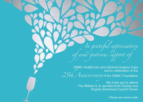 GBMC Foundation - Formal Dinner Invitation by Gloria Shin, via - formal dinner invitation sample