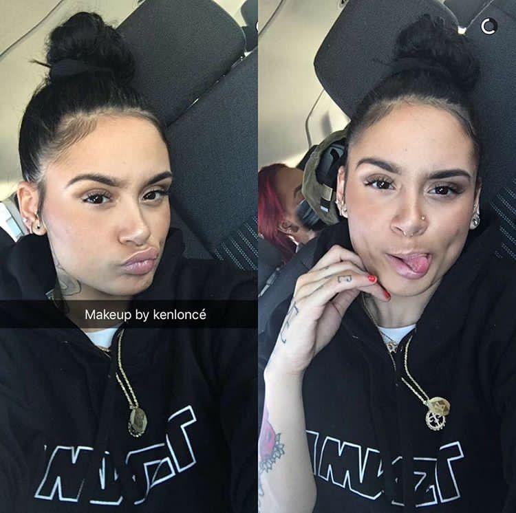 Kehlani // selfie