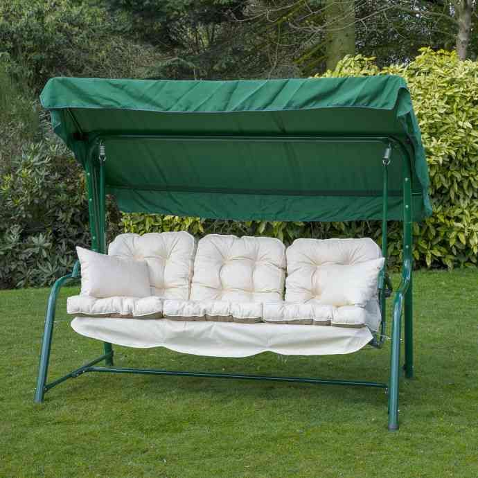 3 Seat Swing Cushion Replacement Porch Swing Cushions Canopy