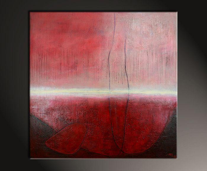 Gemäldetitel: Poetische Stimmung Künstler: Manuela Pilz Maße: 100 x 100 cm Material: feinste Künstlerölfarben, Leinwand auf Holzkeilrahmen Stilvolles modernes Gemälde, signiert & datiert.