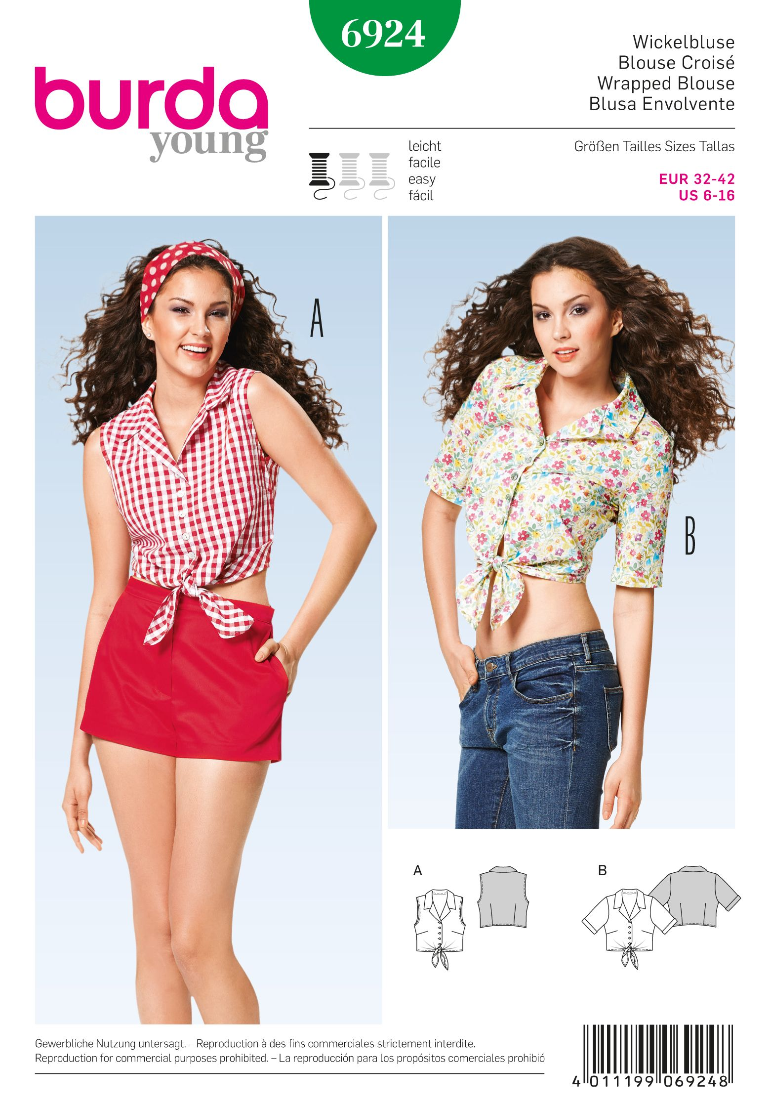 Burda 6924 cute option for a fitted blouse the fitted blouse burda 6924 from age inappropriate dressing to age inappropriate sewing jeuxipadfo Choice Image