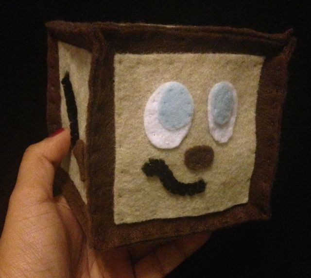 Tiny Box Tim Plush Toy Markiplier's