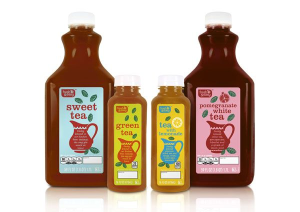 Packaging of the World: Creative Package Design Archive and Gallery: Fresh & Easy Fresh Iced Tea