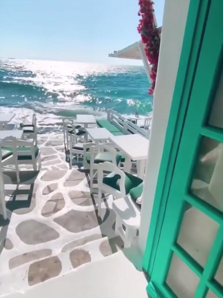 Stunning fine dining @Mykonos Greece
