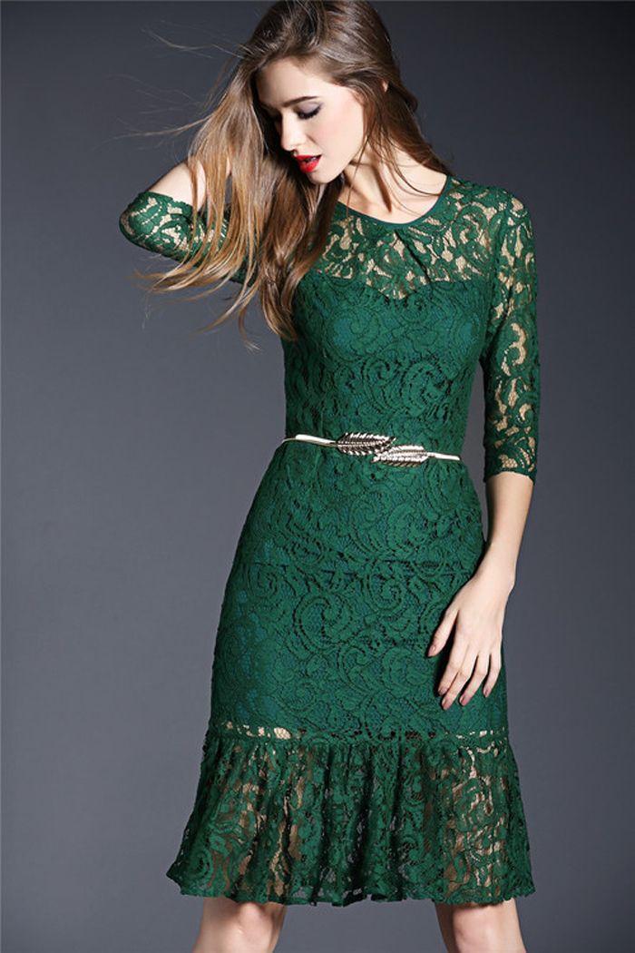 Trendy Long Sleeve Cocktail Dresses