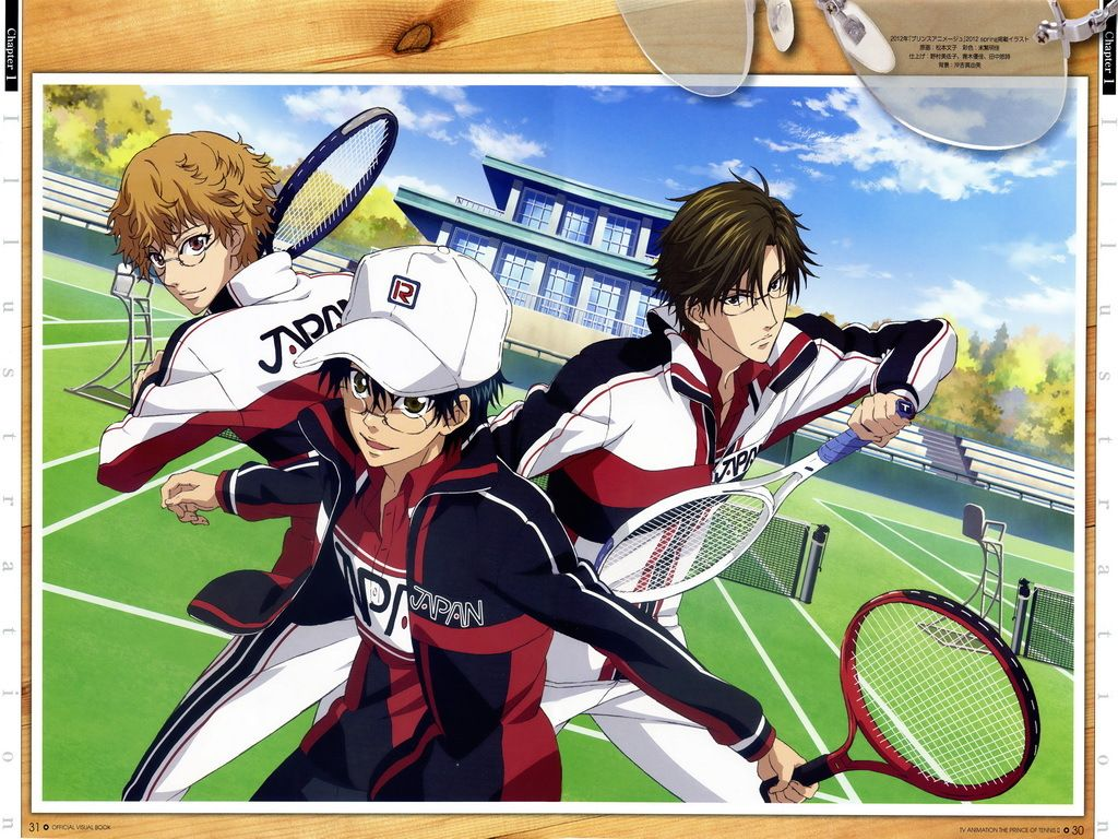 The New Prince Of Tennis 6 244383 Prince Of Tennis Anime Prince Tennis Anime
