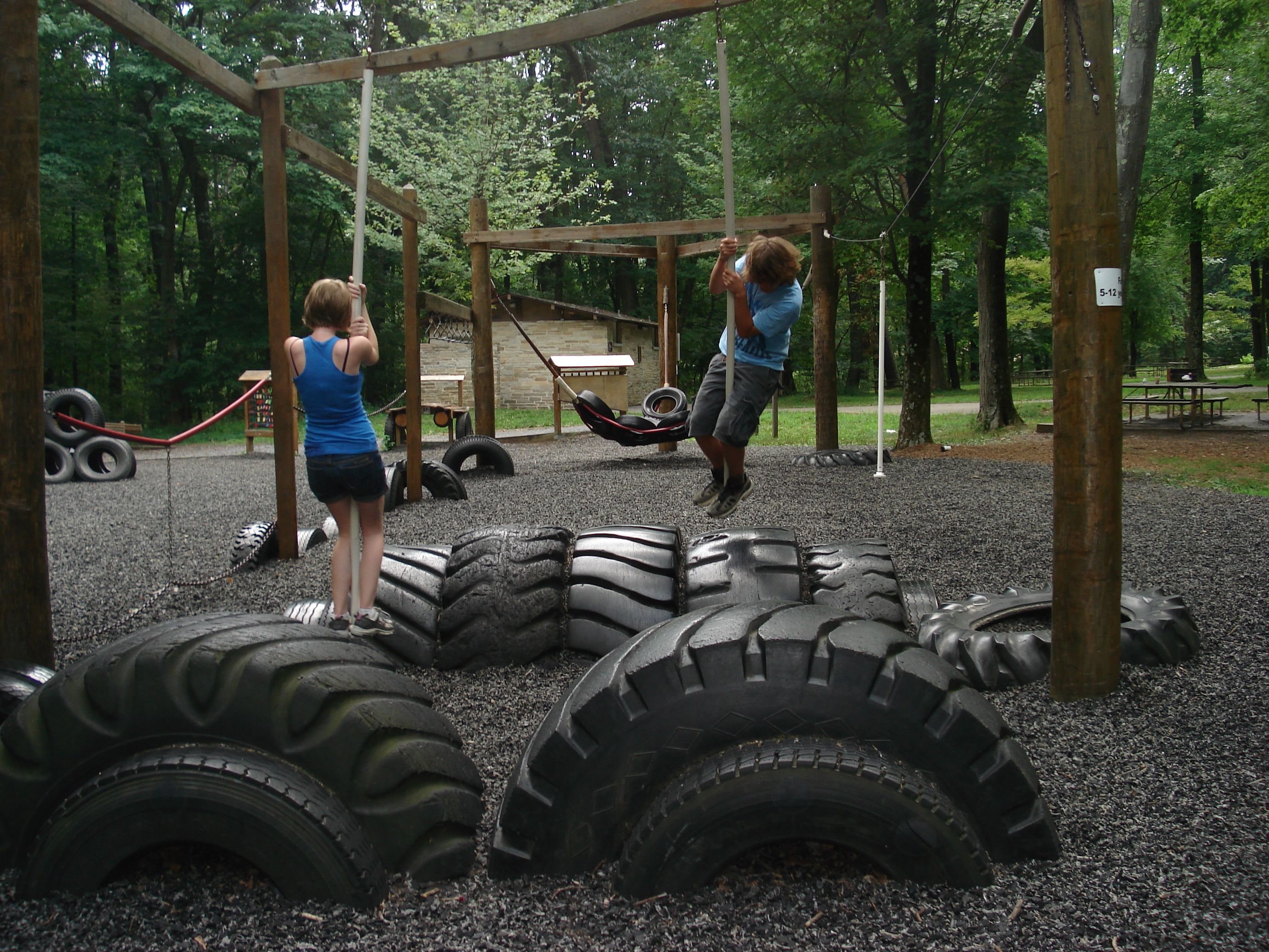Recycled Tire Playground Band Wife Travels Pinterest