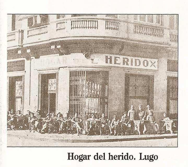 Hogar del Herido. Lugo. (Campo Castillo)