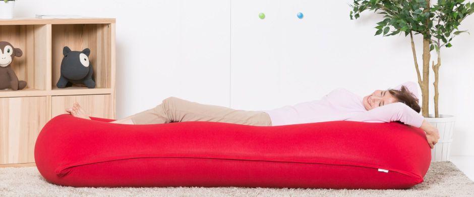 Yogiboは体に完全にフィットするソファです さまざまな形に変身する魔法のビーズソファは 天国の座り心地であなたを包み込みます 世界一のビーズソファyogiboをご体験ください ソファ ヨギボー フィット