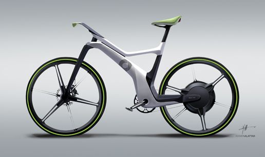 the epedestrian: smart EBIKE a design study of an electric bicycle for smart