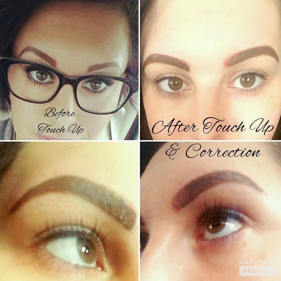 Brow Touch Up To Make Them Thicker Closer Together Per Facial