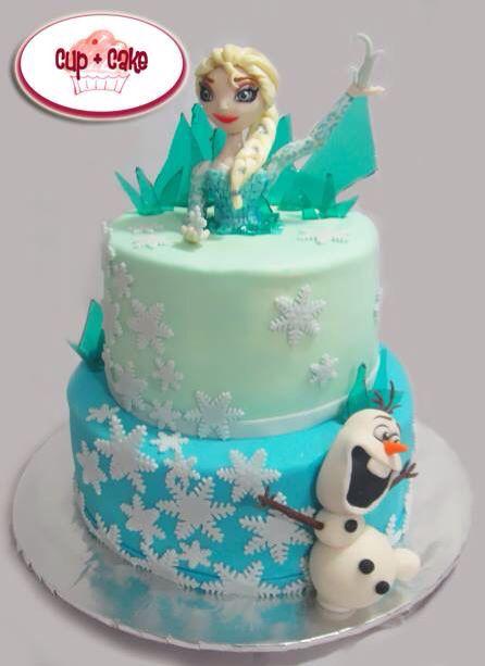 #Cake #Frozen #Elsa #Disney @cupcakegdl