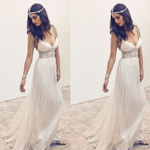 Gypsy bride yes or no ✨ @looklatestfashion •  For shopping link in bio 👆