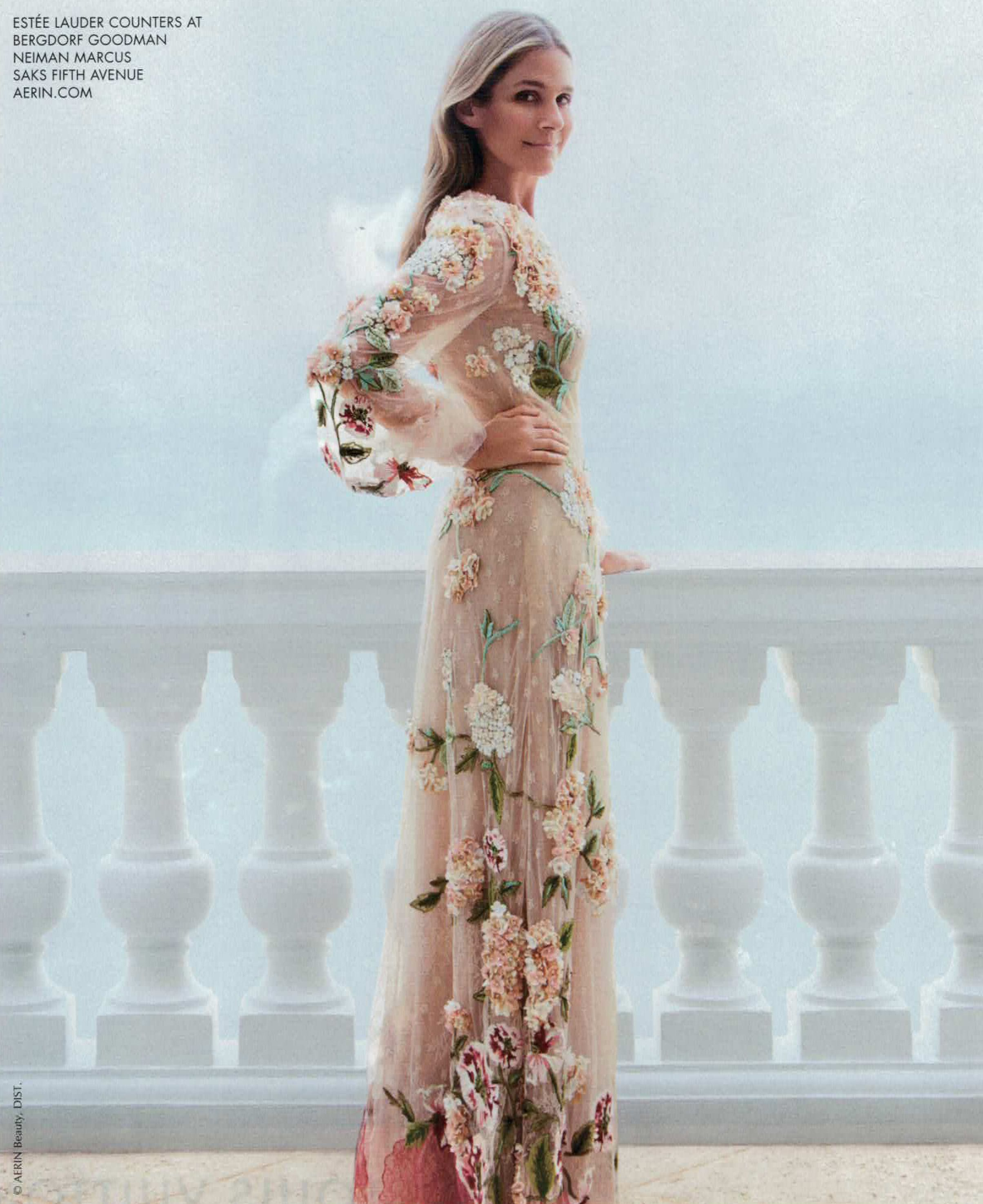 Saks Fifth Avenue Wedding Gowns: Lovely Estee Lauder Counters At