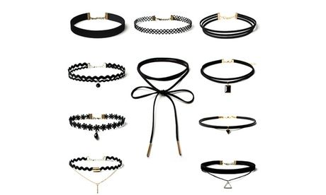 One (AED 59) or Two (AED 89) 10-Piece Choker Sets  10-Piece Choker Set  #BrandedWatches #DailyDeals #Fashion #FashionAccessories #FashionBrands #FashionJewelry #Groupon #Jewelry #LadiesWatch #Merchandising(AE) #ZAgifts.Com #Fashion #JewelryWatches #UAEdeals #DubaiOffers #OffersUAE #DiscountSalesUAE #DubaiDeals #Dubai #UAE #MegaDeals #MegaDealsUAE #UAEMegaDeals  Offer Link: https://discountsales.ae/fashion/10-piece-choker-set-1/