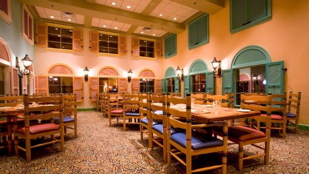 Walt Disney World Resorts Shutters At Old Port Royale In Caribbean Beach Resort
