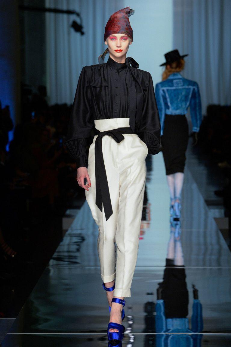 Jean Paul Gaultier коллекция   Коллекции весна-лето 2017   Париж   VOGUE