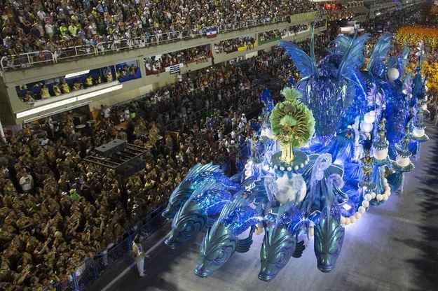 Brazilian Girl. Carnival In Rio Stock Illustration