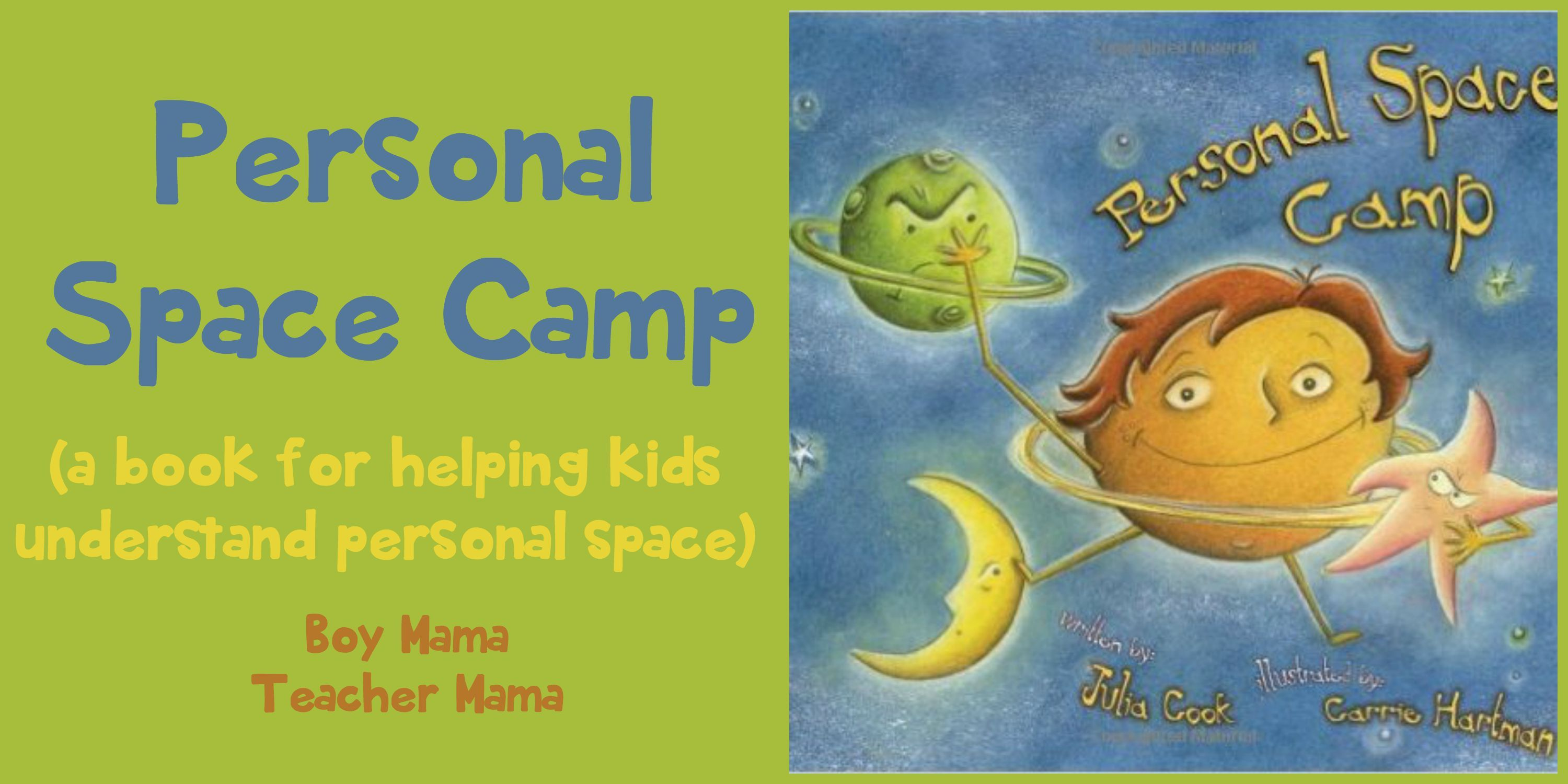 Book Mama Personal Space Camp
