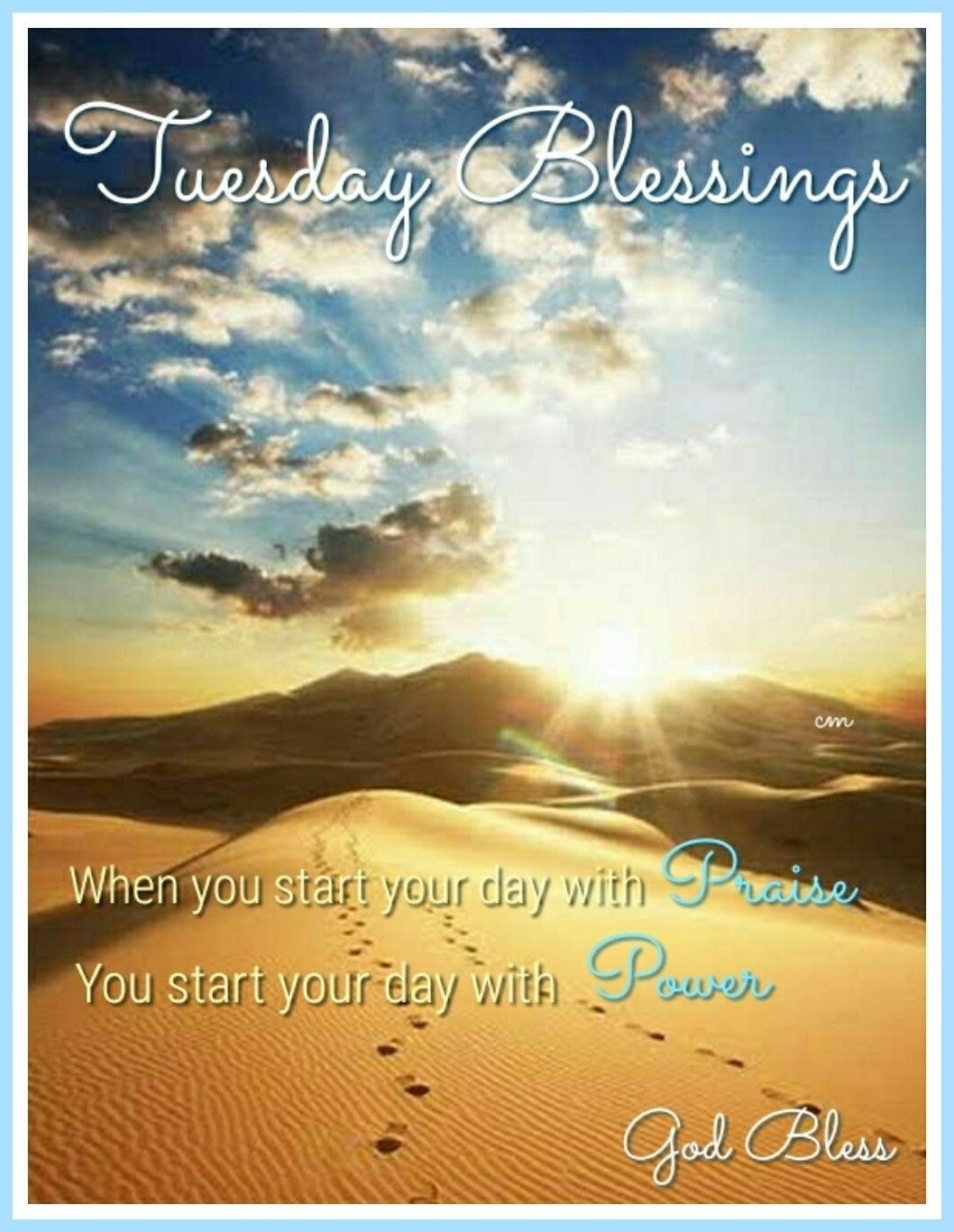 Happy Tuesday God Bless You At Every Step Blessed Good Morning Post Tuesday Images