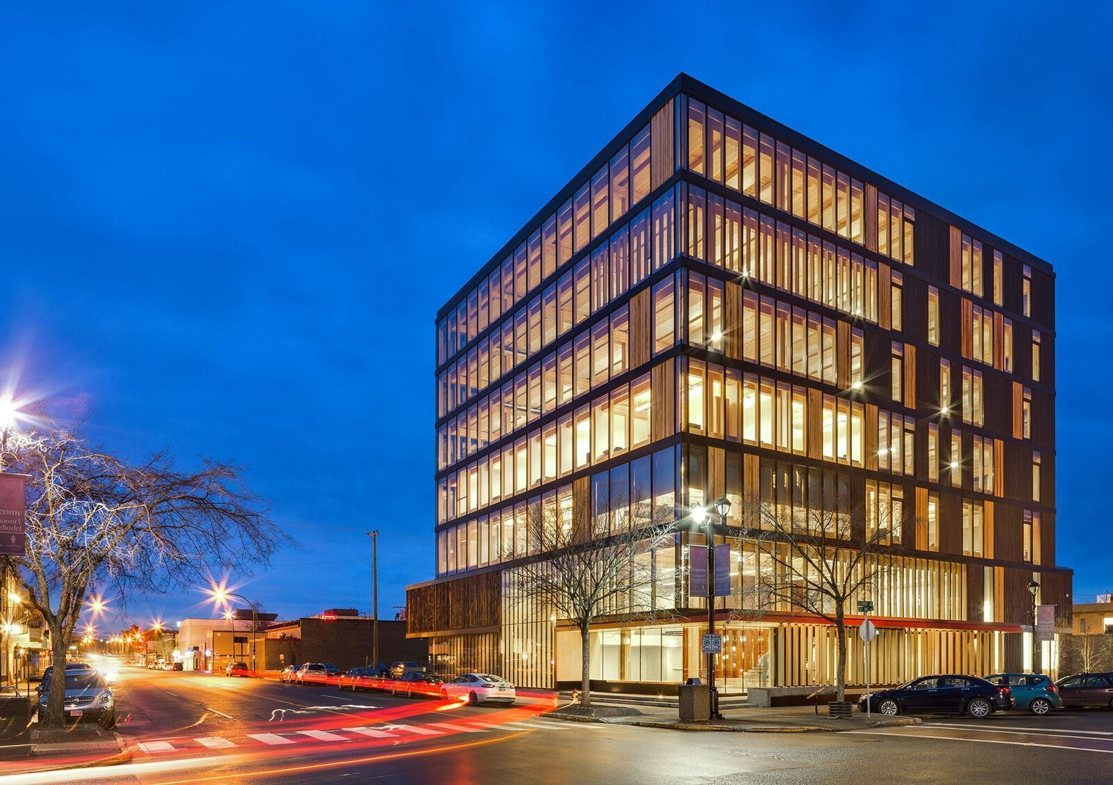 wooden office buildings. Michael Green Architecture\u0027s Wood Innovation Design Centre (WIDC) Is A The World\u0027s Largest Wooden Office Building, And Model For All-timber Construction. Buildings L