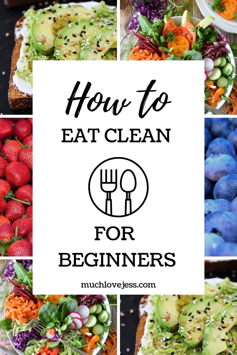 All About Clean Eating (How To Eat Clean For Beginners) images