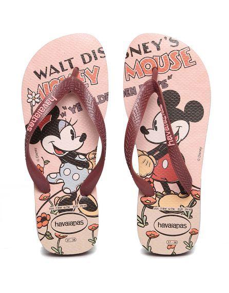 2a04790b81 Chinelo Havaianas K. Disney Stylish Chinelos Ipanema