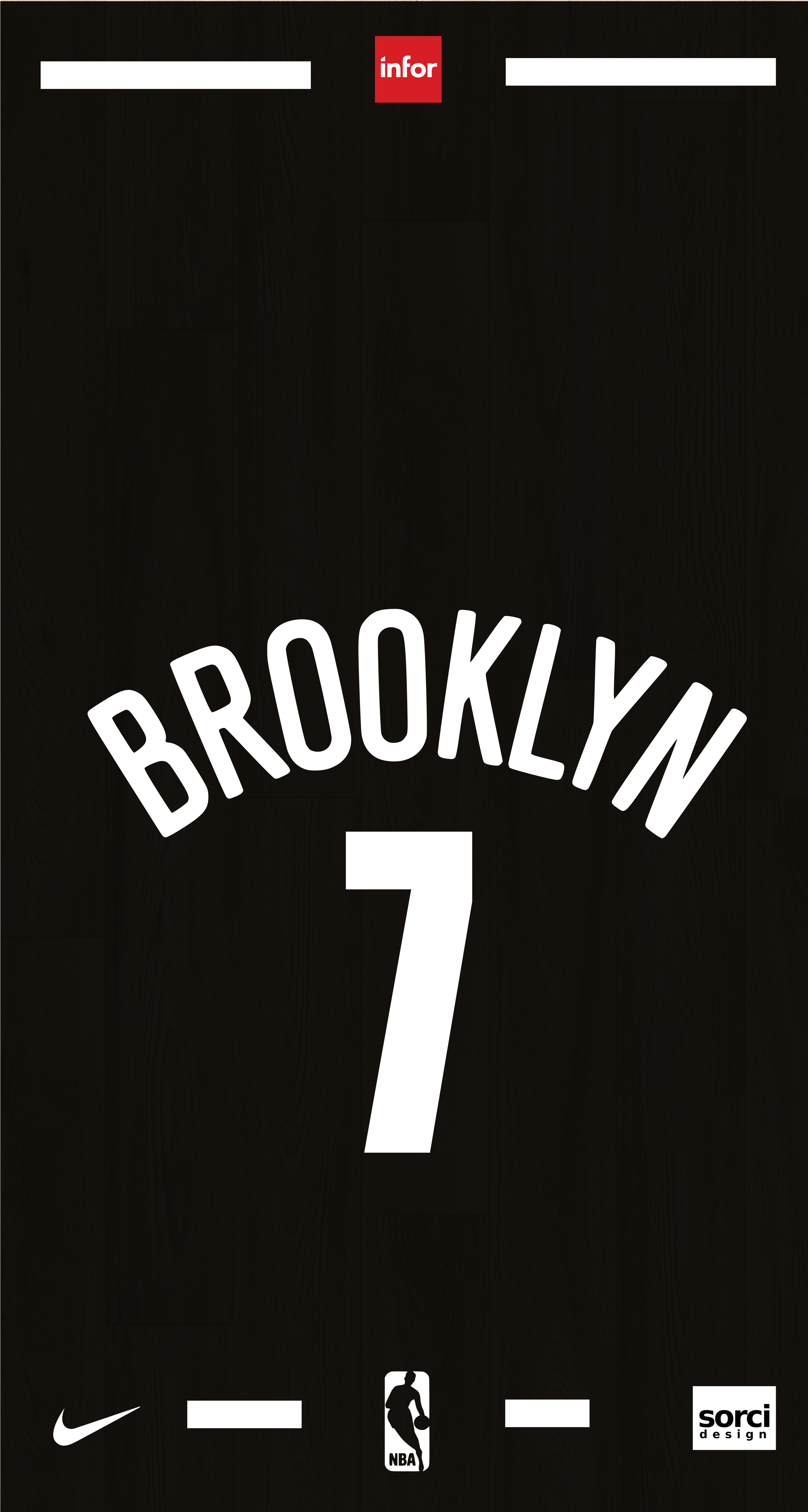 KEVIN DURANT BROOKLYN NETS JERSEY NBA Nba kevin durant