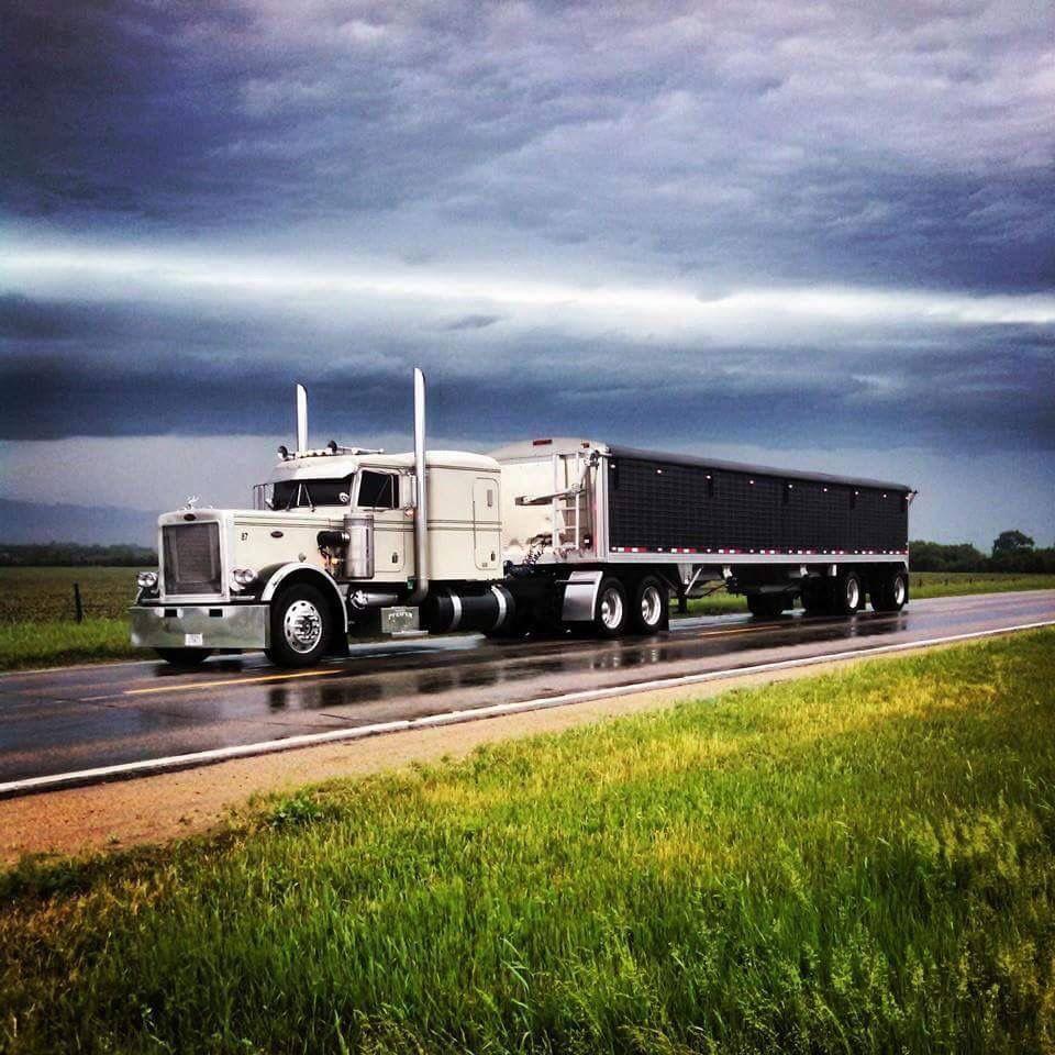 Peterbilt Hopper Big Trucks Trucks Big Rig Trucks
