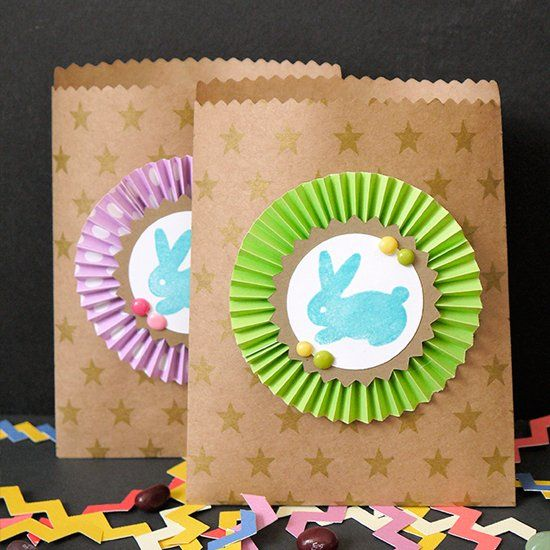 Make your own bunny stamps and craft these cute goodie bags for make your own bunny stamps and craft these cute goodie bags for easter template included negle Choice Image