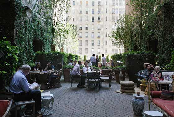 Hudson Ny Terrace Hudson Hotel Nyc Bars Nyc Rooftop