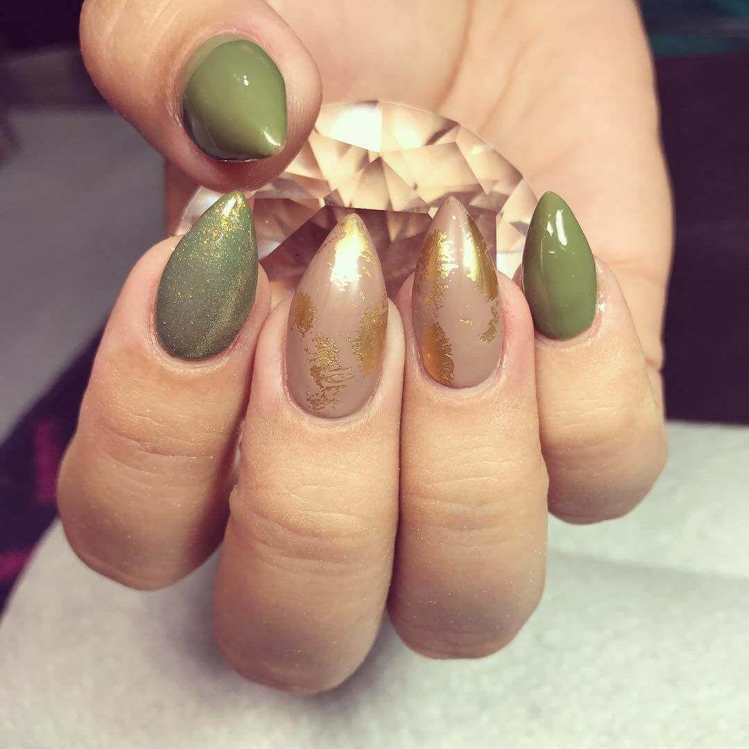 diseños de uñas verdes | bonitas | Pinterest | Uñas verdes, Diseños ...