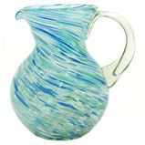 Pacifica Pitcher - made from recycled glass