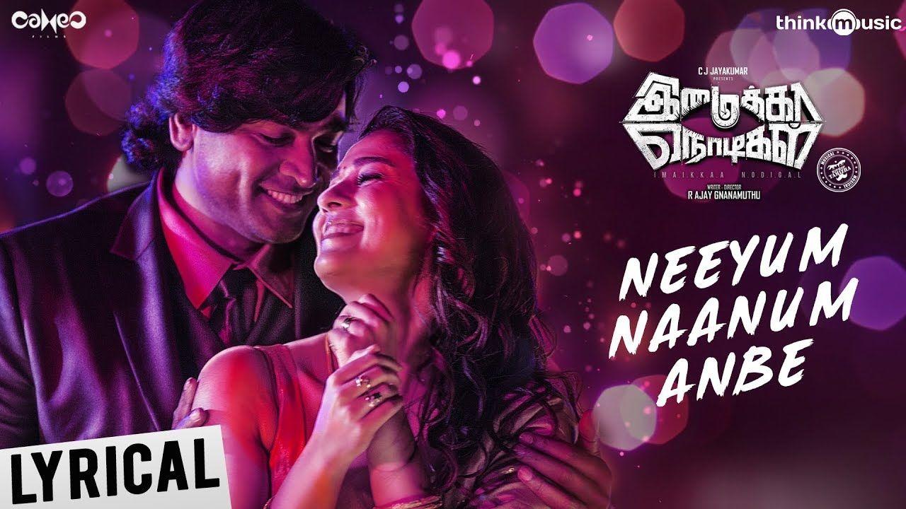 Imaikkaa Nodigal Neeyum Naanum Anbe Song Hiphop Tamizha Vijay Seth Songs Trending Videos Video