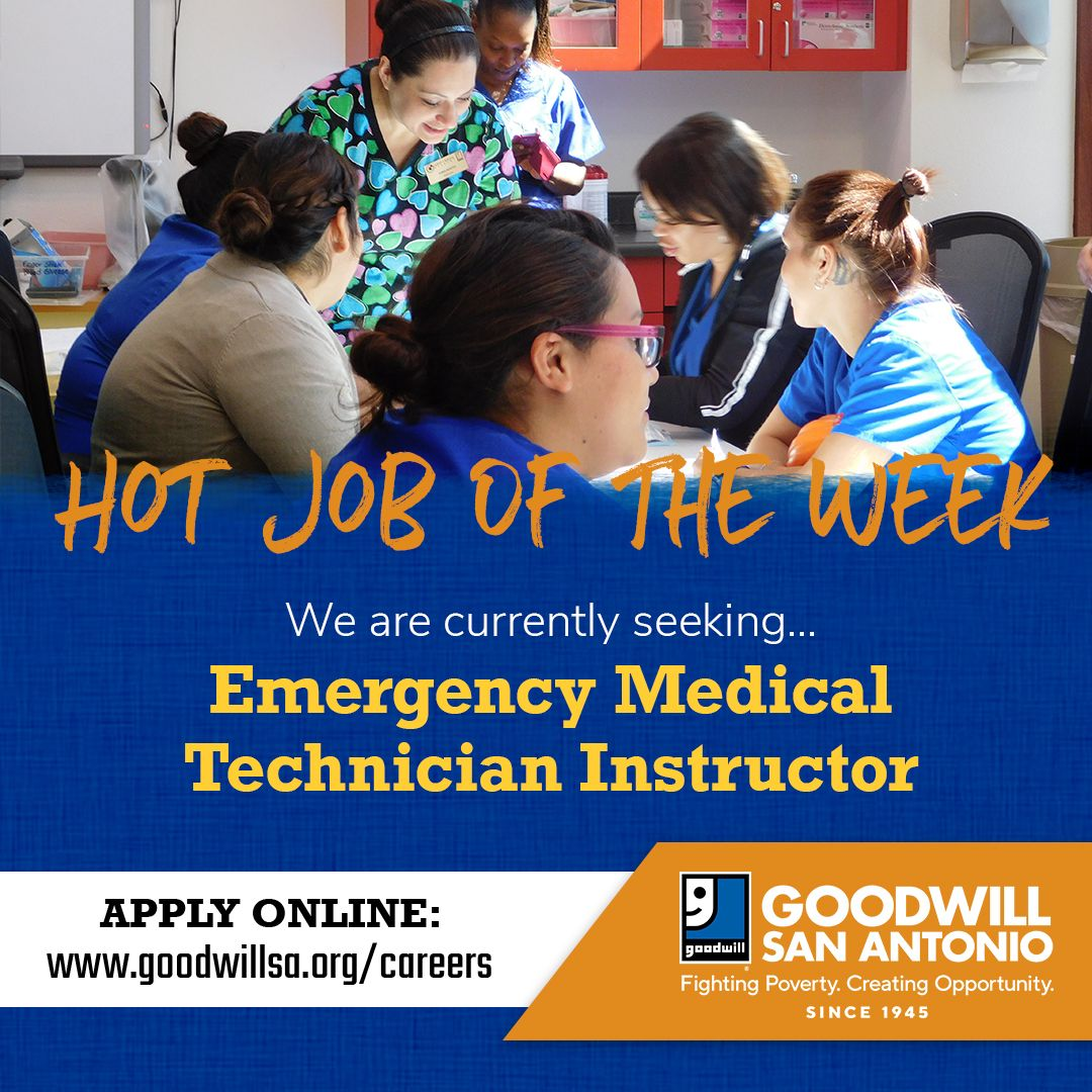 We are currently seeking an Emergency Medical Technician