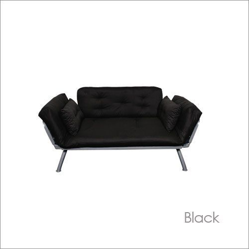 Twin American Furniture Alliance Mali Flex Futon Combo With Pewter Frame By