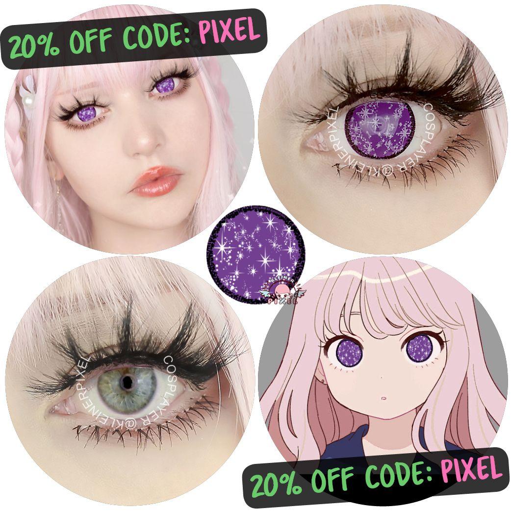 Anime sparkle violet by kleinerpixel in 2021 cosplay