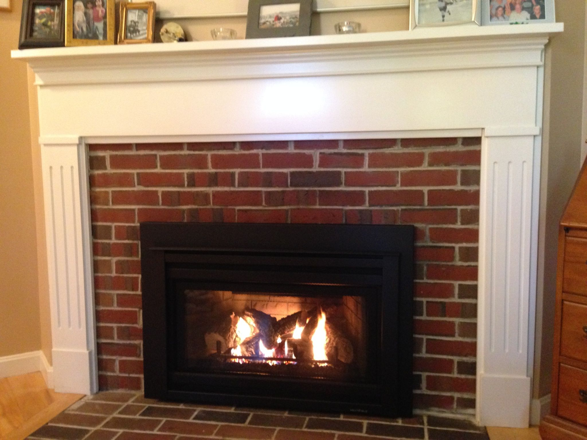 Heat Glo Supreme gas insert   Trinity Fireplace Inserts ...