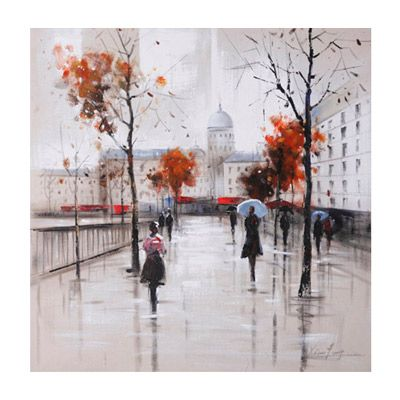 Image result for Autumn City Walk Canvas