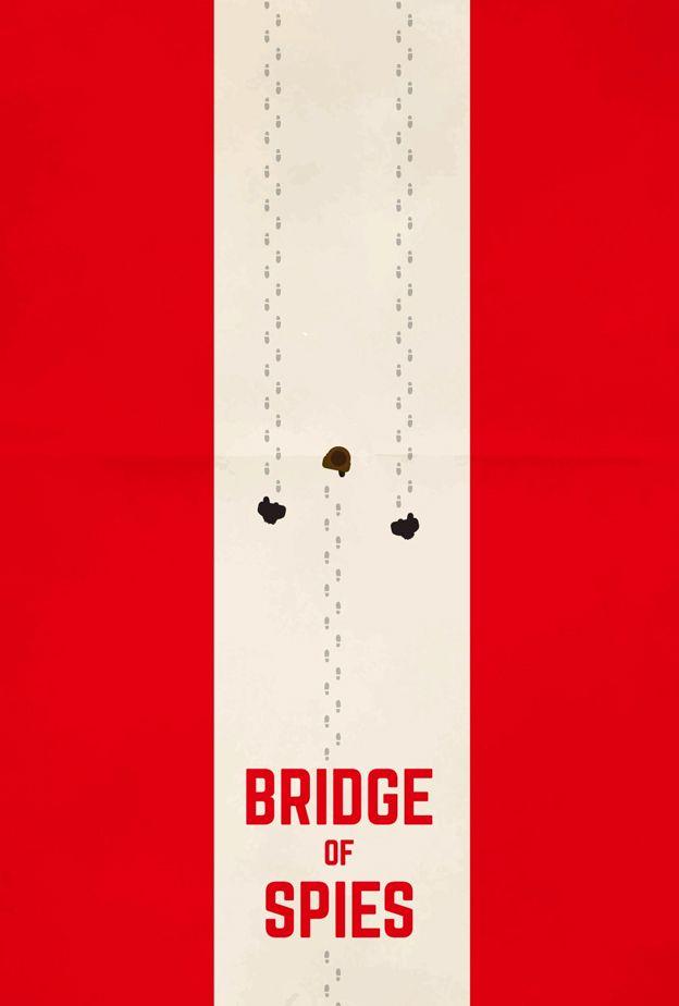 Bridge of Spies (2015) ~ Minimal Movie Poster by naremaru ~ Oscars 2016 Nominees #amusementphile