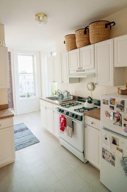 Rental Kitchen Solutions Big Baskets For The Home Pinterest