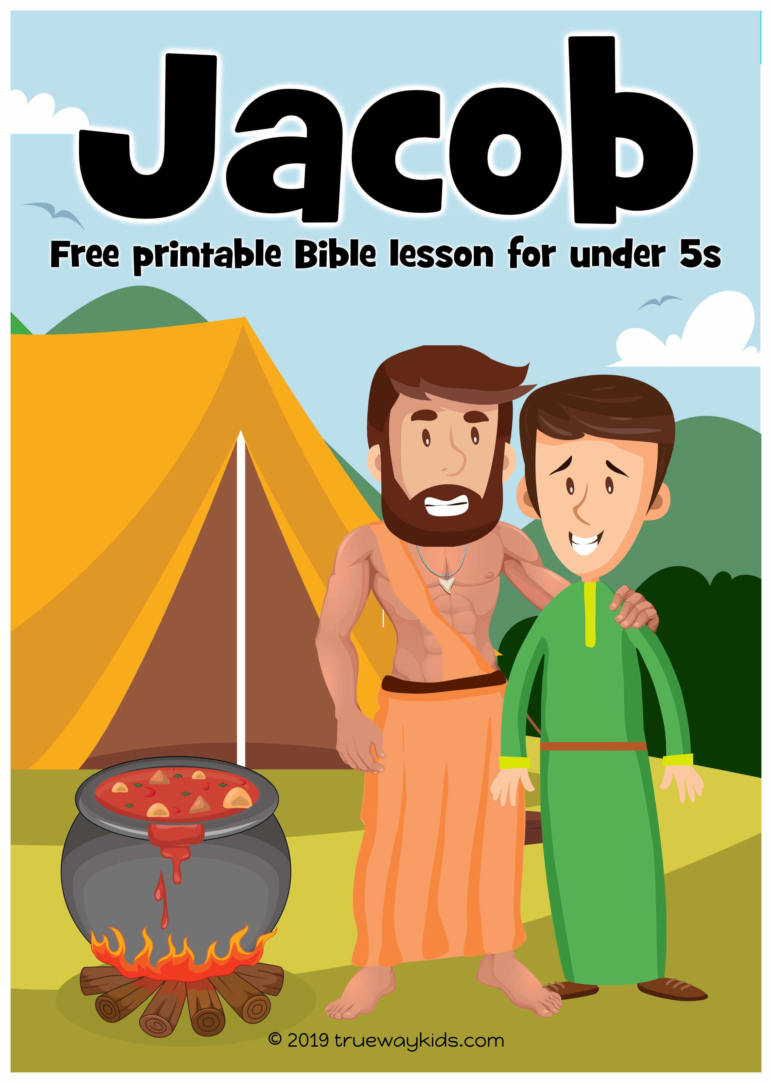 Jacob Preschool Bible Lesson Learn About How God Can Change Our Life Games Crafts Activities
