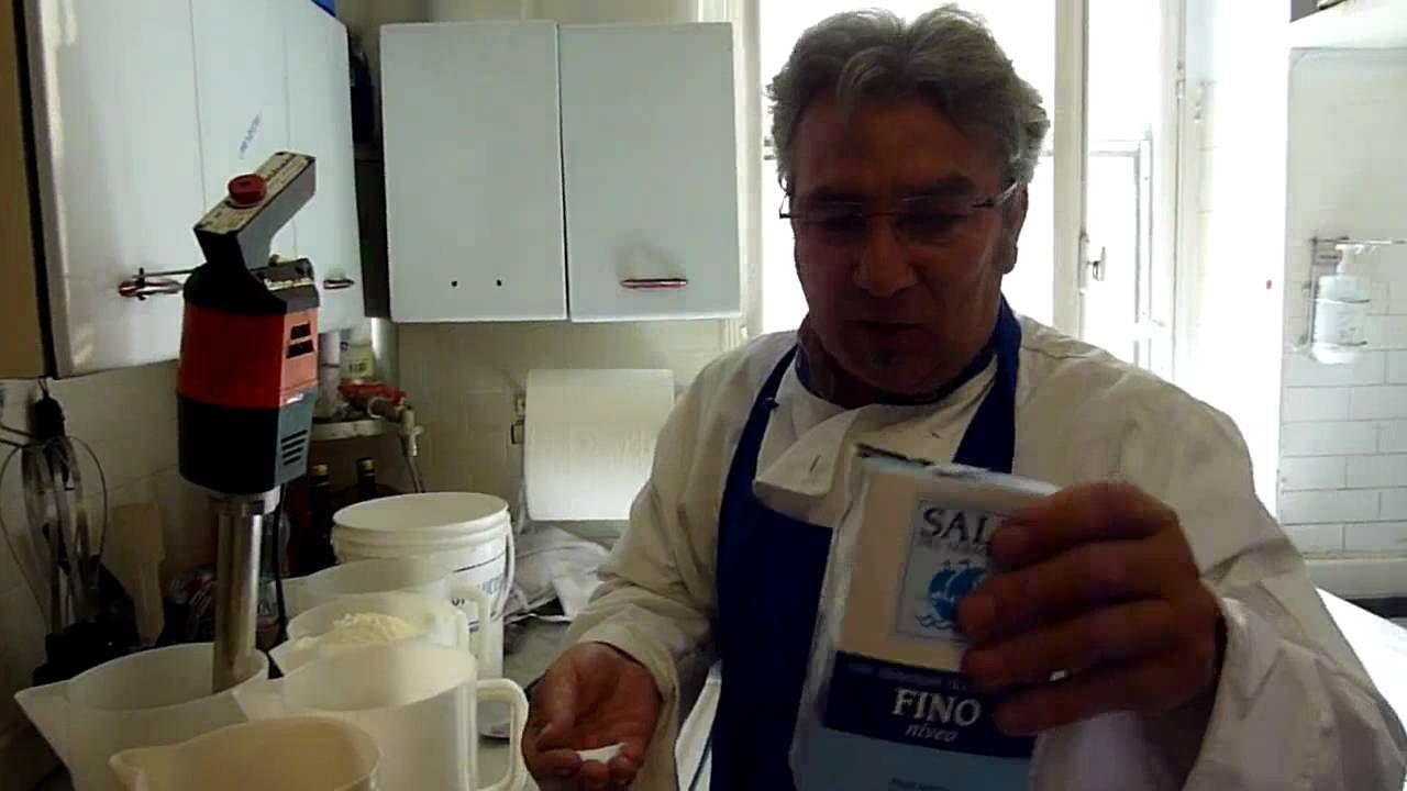 Come fare una base  gelato alla crema al top.MTS
